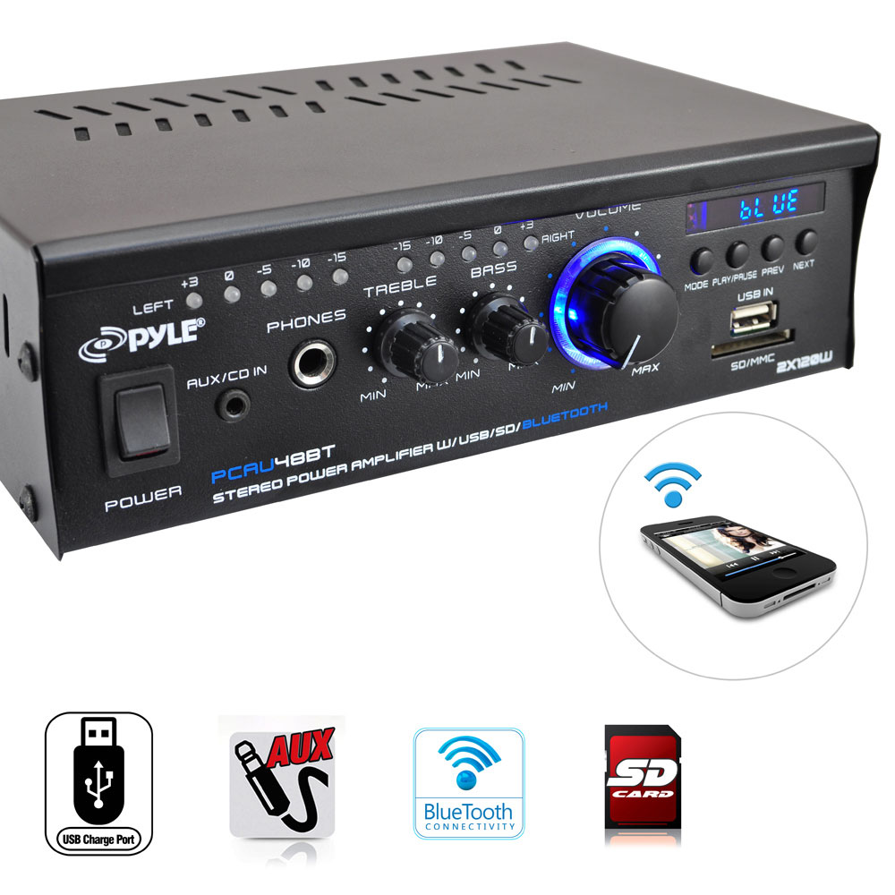 Sd Input Stereo System For Home