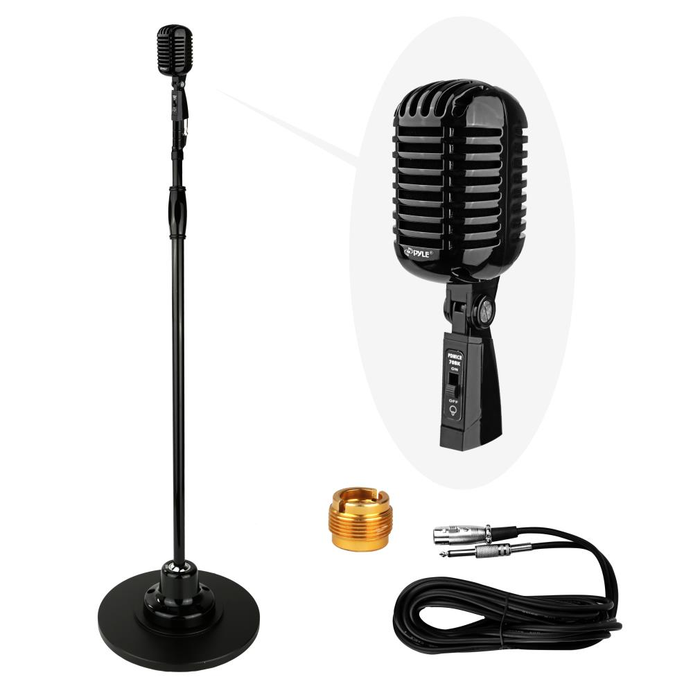 New! Classic Retro Vintage Style Microphone & Swing Stand ... Retro Microphone With Stand