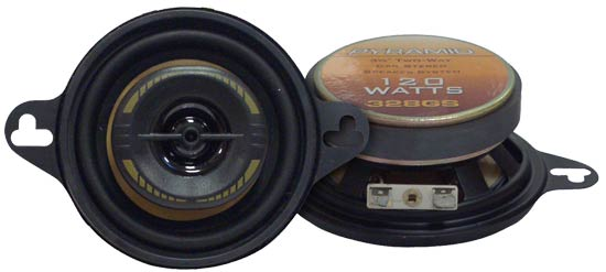 3.5'' 120 Watts Two-Way Speakers