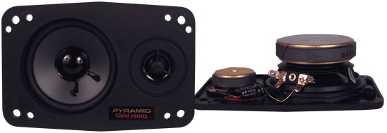 4'' x 6'' 3-Way Triaxial Plate Speaker