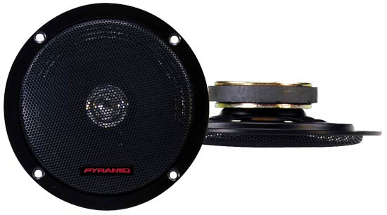5.25'' 100 Watts Two-Way Dual Cone Speakers w/Built-In Grill