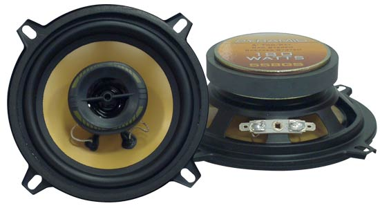 5'' 180 Watts Two-Way Speakers