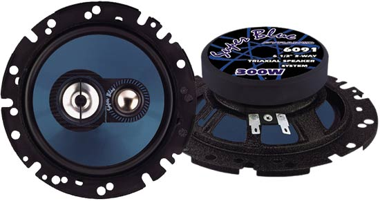 6.5'' 300 Watts Three-Way Slim Mount Speakers