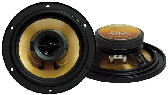 6.5'' 200 Watts Two-Way Speakers