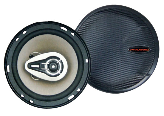 6.5'' Three-Way 500 Watts P.P. Cone Speakers