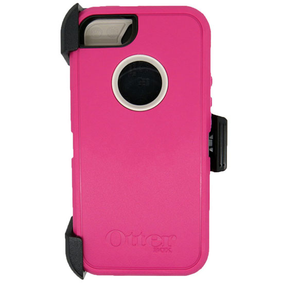 Otterbox Defender Rugged Combo Case + Holster for iPhone 5 or 5S - Pink/White