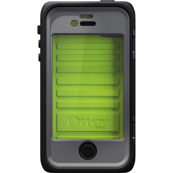 Otterbox Armor Series Waterproof, Drop Proof, Dust Proof Crush proof Case for iPhone 4/4S - Neon