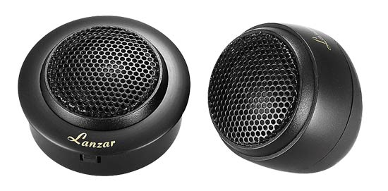 1'' Silk Dome Neodymium Flush, Surface or Angle Mount Tweeter