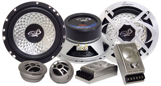 Heritage 6.5'' Two-Way Custom Component Speaker System
