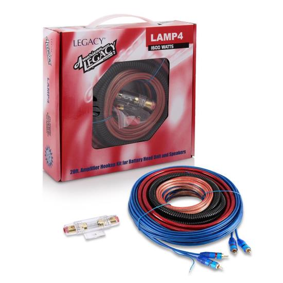 1600 Watt 4 Gauge Amplifier Installation Kit
