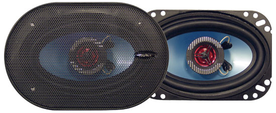 240 Watt 4'' x 6'' Two-Way Speakers