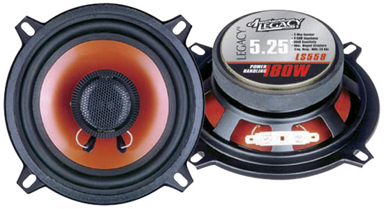 5'' 180 Watt Two-Way Speakers
