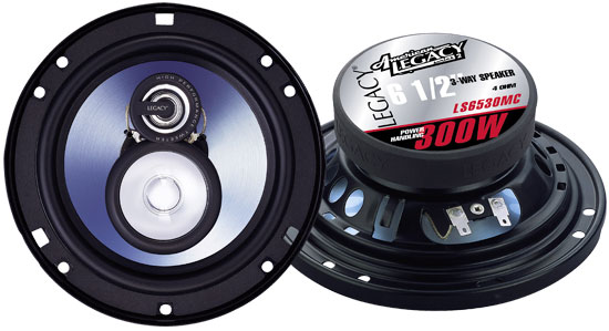 6.5'' 300 Watt Three-Way Speakers
