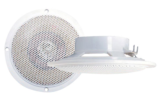 100 Watts 4'' Waterproof Flush mount 2 Way Marine Speaker System