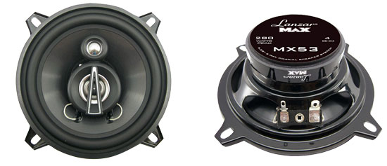 5.25'' 140 Watts 3 Way Triaxial Speakers
