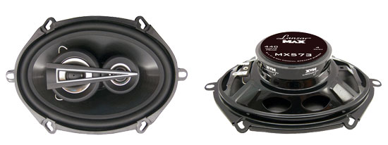 5'' x 7'' 440 Watts 3 Way Triaxial Speakers
