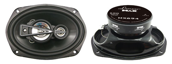 6'' x 9'' 680 Watts 4 Way Quadaxial Speaker