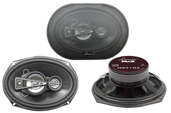 7''' x 10'' 730 Watts  4 Way Quadaxial Speaker