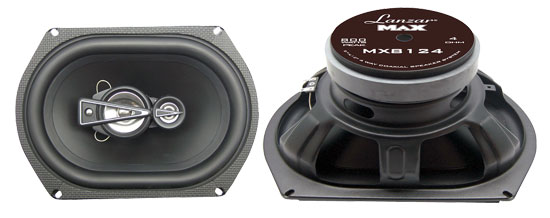 8''x 12'' 1000 Watts 4-Way Quadaxial Speaker