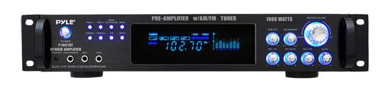 1000 Watts Hybrid Pre-Amplifier w/AM/FM Tuner