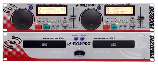 Professional Dual CD Player with Jog Dial