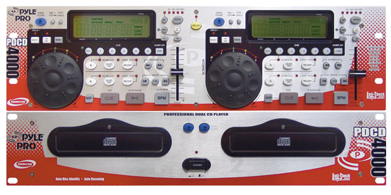 Professional Dual CD Player with DSP and Sampler