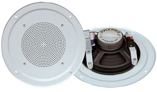 5'' Full Range In Ceiling Speaker System W/Transformer