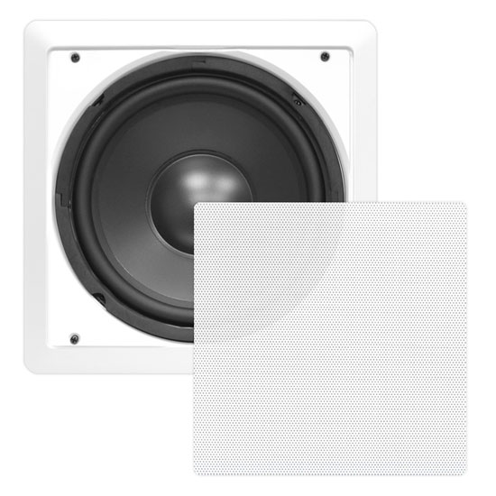 10'' In-Wall High Power Subwoofer