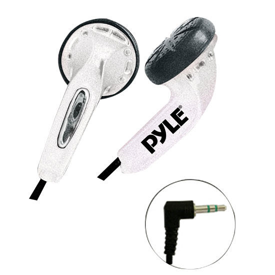 Ultra Slim In-Ear Ear-Buds Stereo Bass Headphones For Ipod/MP3/All Audio source Players (White)