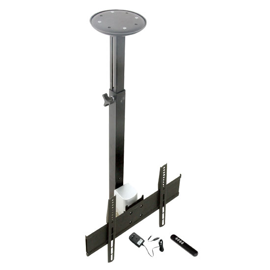 17'' To 37'' Motorized Universal Flat Panel TV Tilted Ceiling Mount