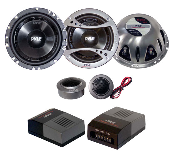 6.5'' 300 Watt 2-Way Component Speaker System