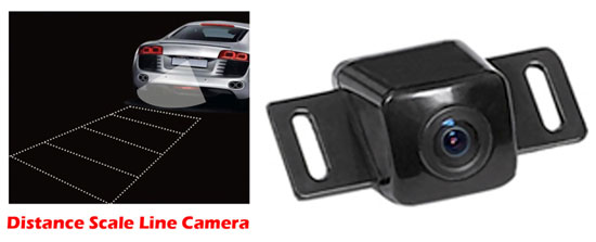 Pyle Toyota Vehicle Specific Infrared Rear View Backup Camera with Distance Scale Line at Sears.com
