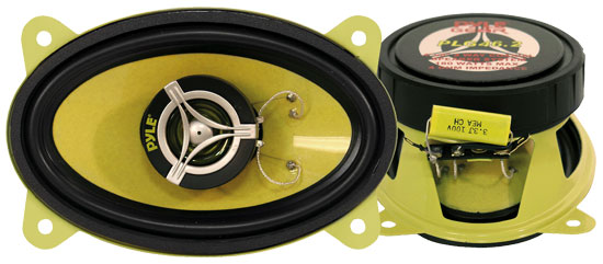 4'' x 6'' 180 Watt Two-Way Speakers