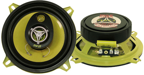5.25'' 140 Watt Three-Way Speakers