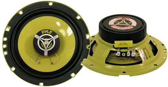 6.5'' 240 Watt Two-Way Speakers