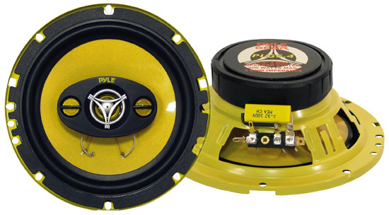 6.5'' 300 Watt Four-Way Speakers