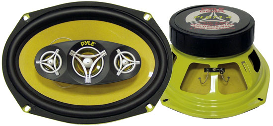 7'' x 10'' 450 Watt Four-Way Speakers