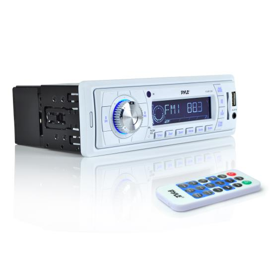 AM/FM-MPX PLL Tuning Radio w/SD/MMC/USB & Weather Band