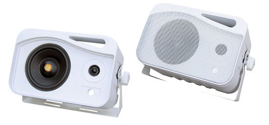 5'' 500 Watt 3-Way Weather Proof Mini Box System (White)