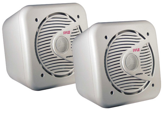 6.5'' 200 Watt Two-Way Shielded Marine Water Proof Speakers