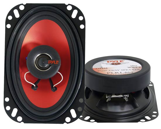 4''x 6'' 180 Watt  Two-Way Speakers