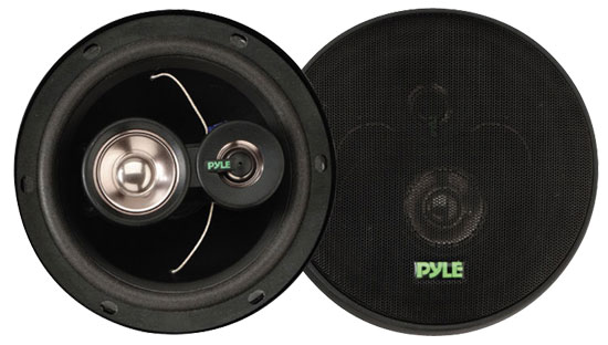 6.5'' 180 Watt Three-Way Speakers