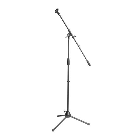 Tripod Microphone Stand w/Boom