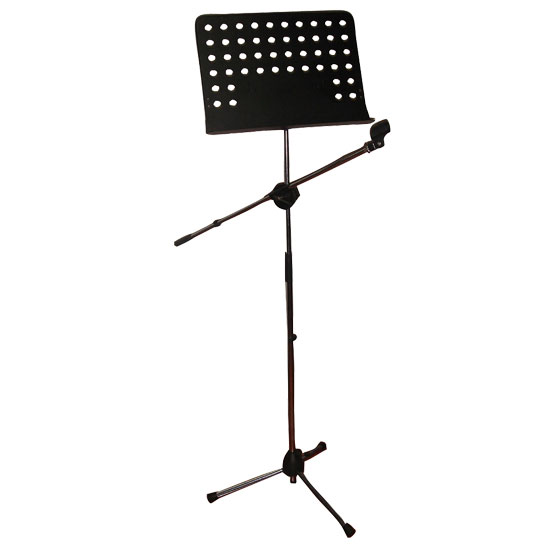 Heavy Duty Tripod Microphone And Music Note Stand