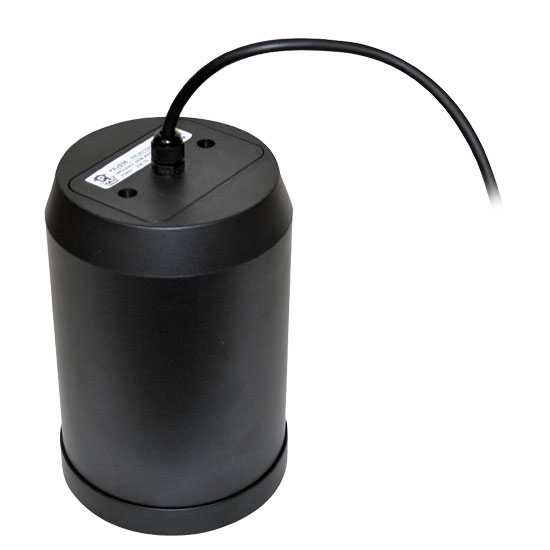 5'' 20 Watt Ceiling Hanging Pendant Speaker w/ 70V Transformer (Black)