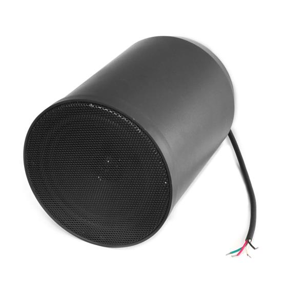 6.5'' 40 Watt Ceiling Hanging Pendant Speaker w/ 70V Transformer (Black)