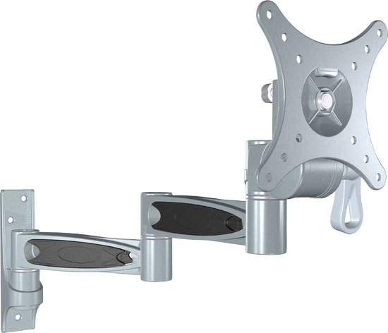 10-24'' Universal Triple Arm Swivel/Articulating  LCD TV Wall  Mount
