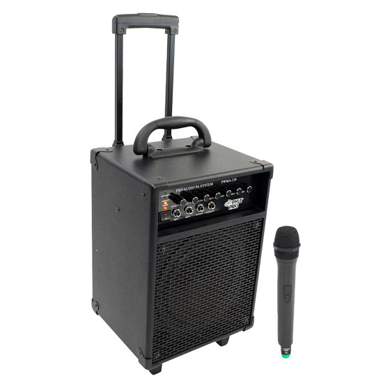 200W VHF Wireless Battery Powered PA System