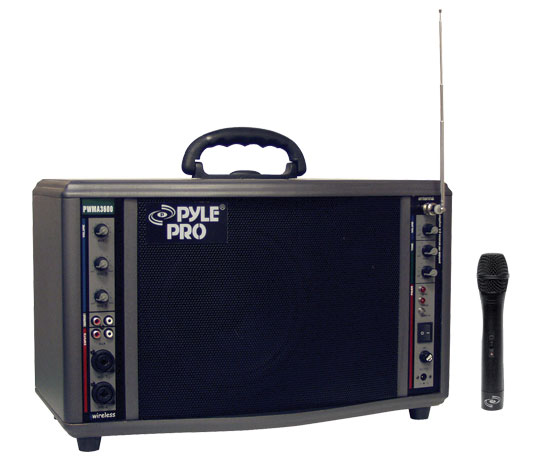 200 Watt Wireless Battery Powered PA System