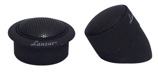 1'' Titanium Dome Neodymium Flush, Surface or Angle Mount Tweeter